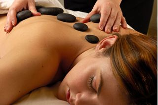 Picture of Hot & Cold Stone Massage